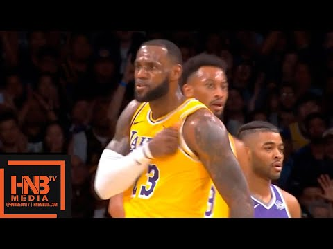 Los Angeles Lakers vs Sacramento Kings 1st Half Highlights | 04.10.2018, NBA Preseason
