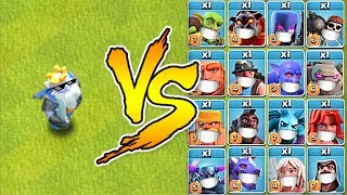 "ROYALE GHOST vs. EVERYONE!! ""Clash Of Clans"" TROLL RAIDS!!"