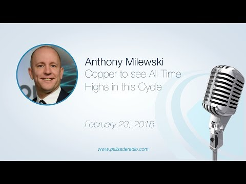 Anthony Milewski: Copper to see All Time Highs in this Cycle