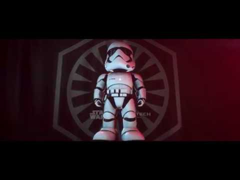 Star Wars UBTech Stormtrooper Interactive Robot At Toys 'R' Us!