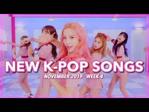 New K-Pop Songs  November 2019 Week 4
