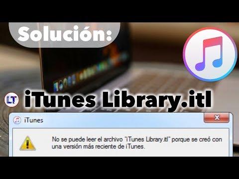 """No Se Puede Leer El Archivo """"iTunes Library.itl""""   LimonTouch"""