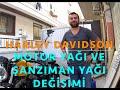 Harley Davidson Sportster Motor ve ?anz?man Ya?? De?i?imi (English Subtitled)