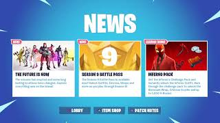Fortnite Saison 9 V-Bucks Giveaway!!! 730 sous-marins