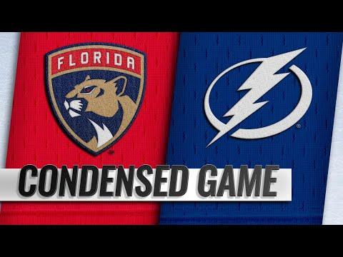 09/27/18 Condensed Game: Panthers @ Lightning
