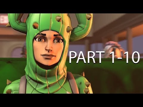 What Really Happens On The Fortnite Battle Bus: Part 1-10 (SFM Animation)