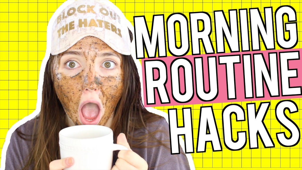 Morning Routine Life Hacks! How To Make Your Mornings Easier | Kenzie Elizabeth