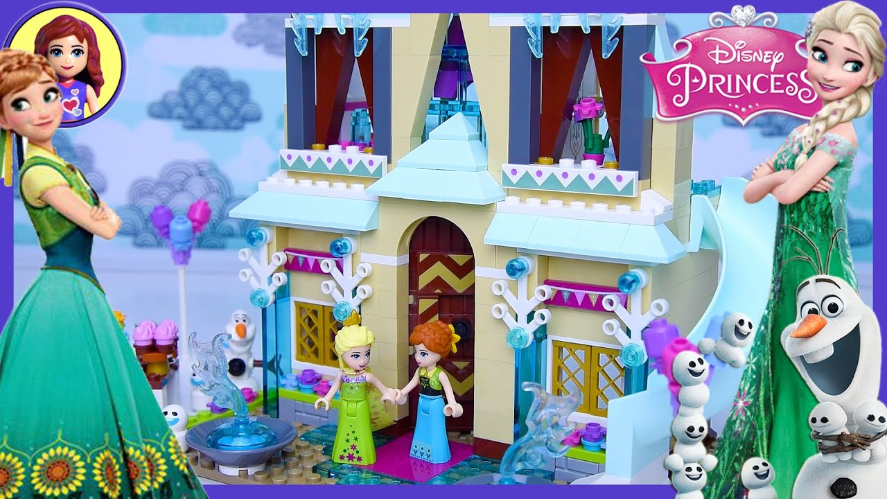 Lego Frozen Fever Arendelle Celebration Castle Disney Princess