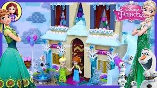 Lego Frozen Fever Arendelle Celebration Castle Disney Princess Build Review Play - Kids Toys thumbnail