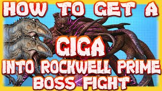 Ark Survival Evolved : Gęnesis part 2 How To Get A Giga Into Rockwell Prime