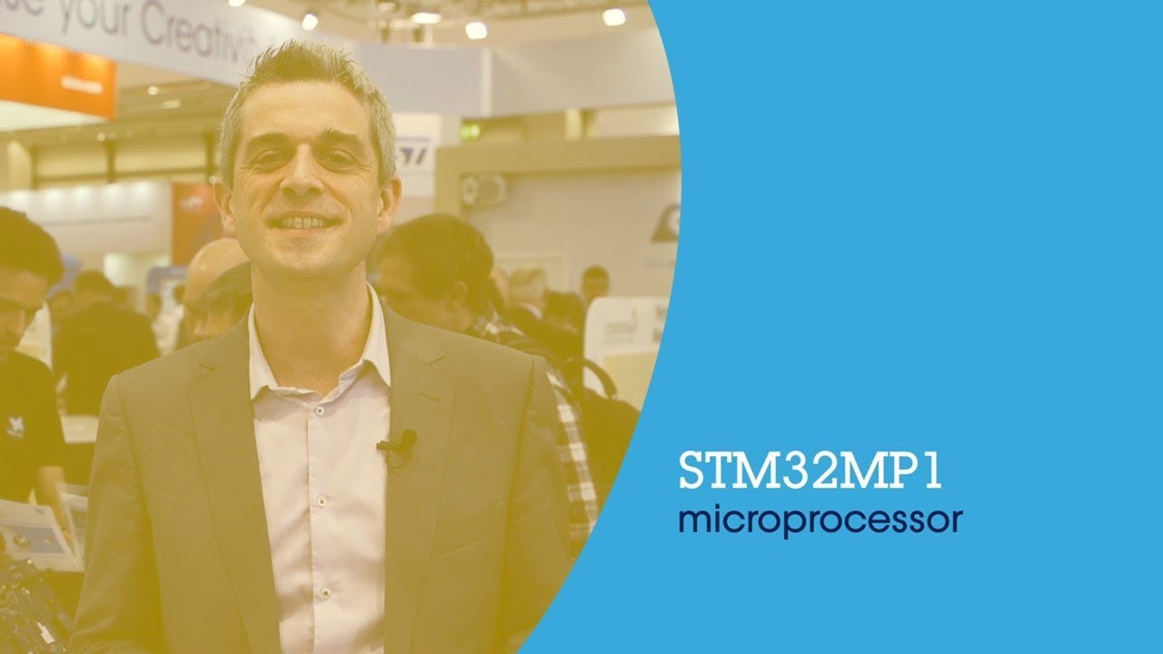 Introducing the multicore STM32MP1 Microprocessors with Linux OS