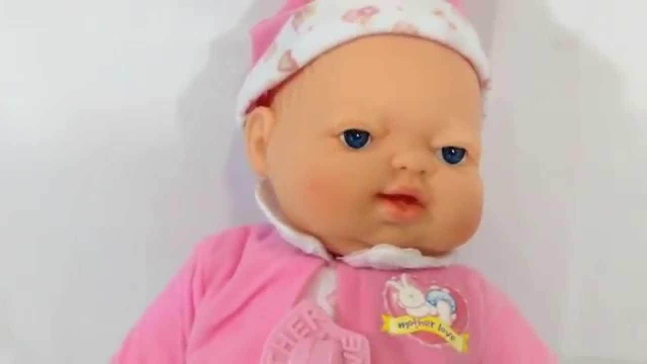 Boneca Bebe Fofucho Expressao Real Chora Ri Ronca Dorme By Brinquedo Do Re Mi Youtube