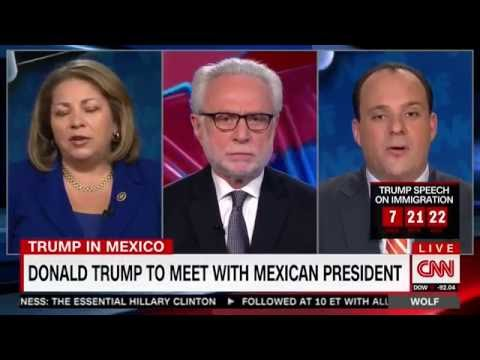 Boris Epshteyn Gangs Up on Linda Sanchez While Talking About Trump's Trip To Mexico