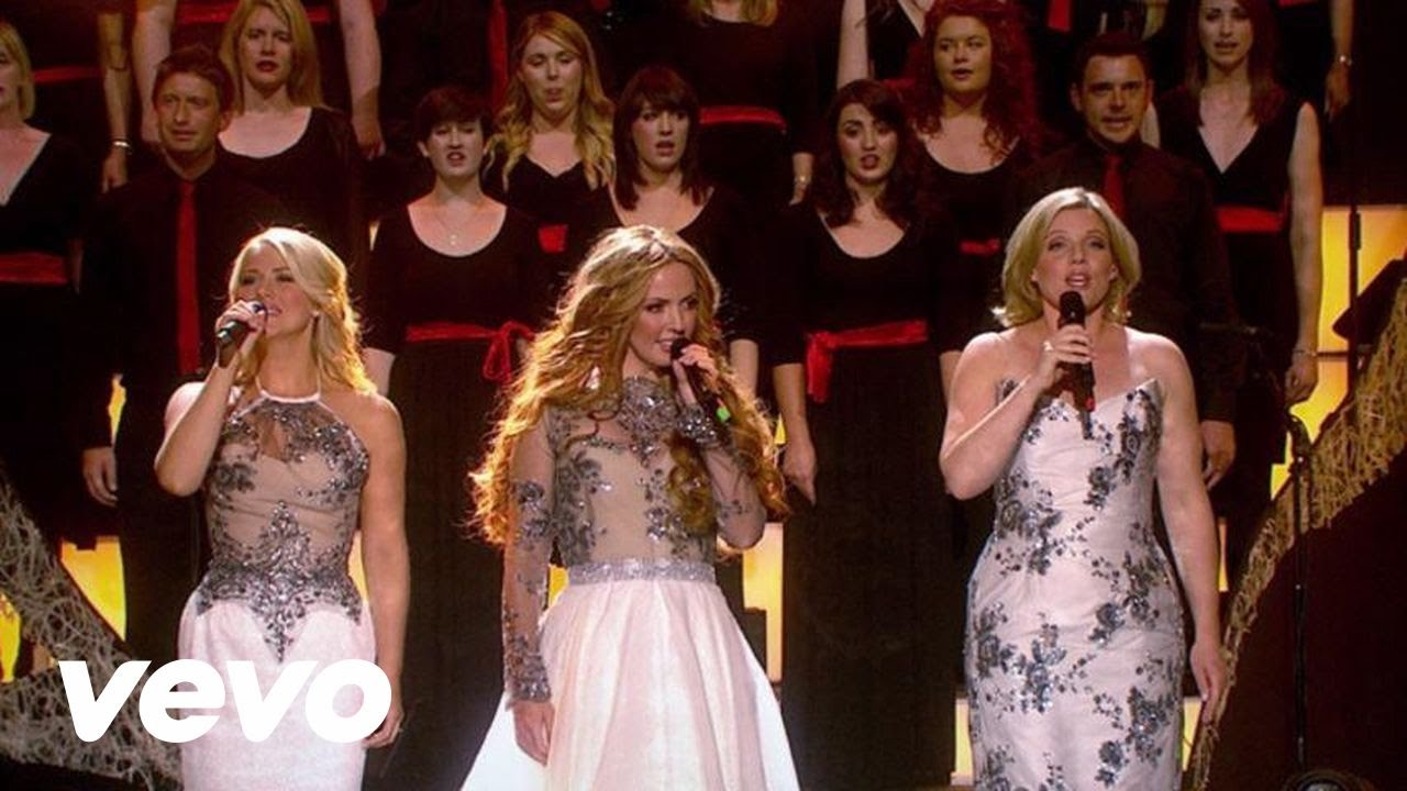 Celtic Women Christmas.Hark The Herald Angels Sing Live At The Helix In Dublin