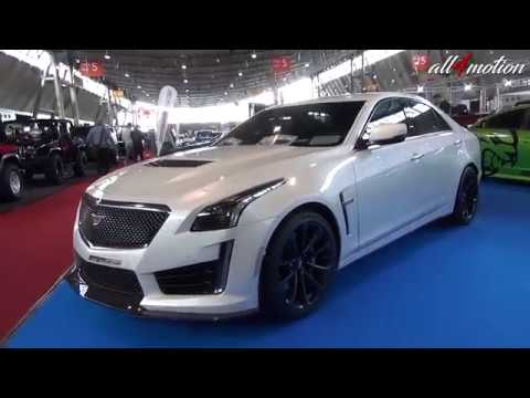 Cadillac Cts V 6 2l V8 Supercharged White W Black Rims