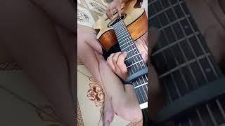 Nỗi Buồn Mẹ Tôi guitar solo [Mitxi Tòng]