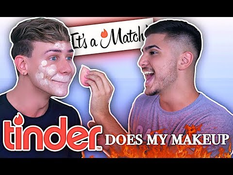 TINDER does my Makeup   Marvyn Macnificent