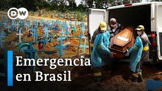 Brasil supera los 14 millones de contagios