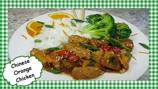 Chinese Orange Chicken Stir Fry ~ Easy Healthy Chinese Chicken Recipe 🍊