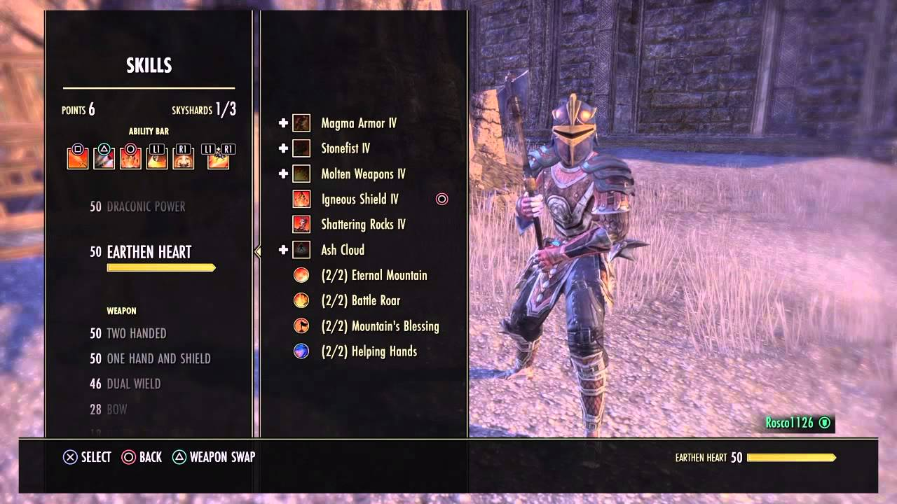Best Dragonknight Build Eso Ps