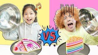 어린이화장품 vs 가짜어린이화장품 Kids makeup 케익화장품 아이스크림화장품 도너츠화장품 피자화장품 와 신기해요! - 마슈토이 Mashu ToysReview