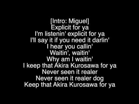 French Montana - XPlicit Ft. Miguel (lyrics)
