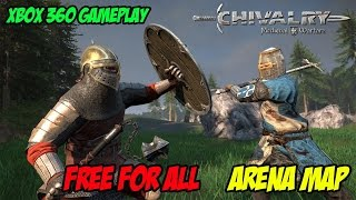 Chivalry Medieval Warfare Free For All Arena Gameplay Xbox 360