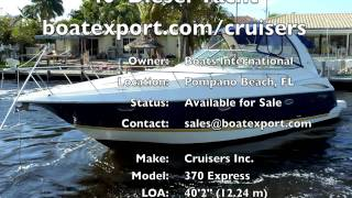 2004 Cruisers 40' Diesel Boat For Sale