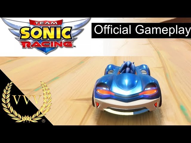 Team Sonic Racing Gameplay - Sneek Peek