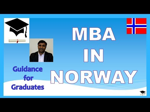 Study MBA in Norway, Study in Norway, Business and Economics Study Programs in Norway
