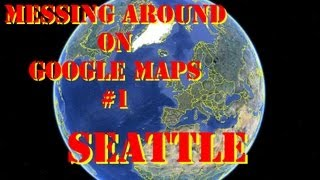 Messing around on google maps #1: Seattle