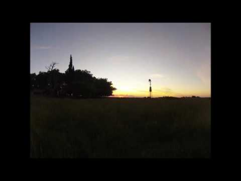 Day 2 - TImelapse of sunset on ranch in Argentina
