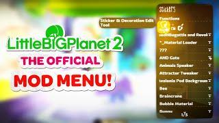 LittleBigPlanet 2 Mod Menu!