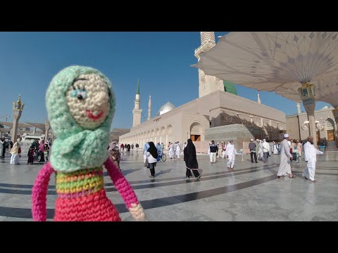 Masjid Nabawi-Amigurumi I Kriya Travel (episode 1)