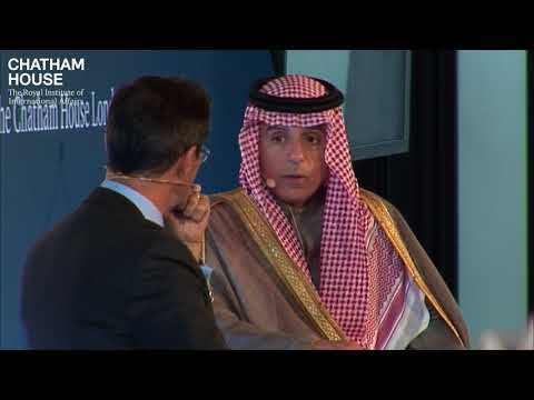 In Conversation with HE Adel al-Jubeir, Minister of Foreign Affairs, Saudi Arabia (full session)