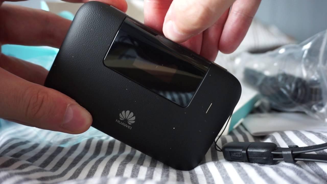 Huawei E5770 - Unboxing