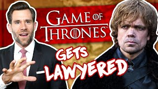 Real Lawyer Reacts to Game of Thrones: Trial of Tyrion Lannister