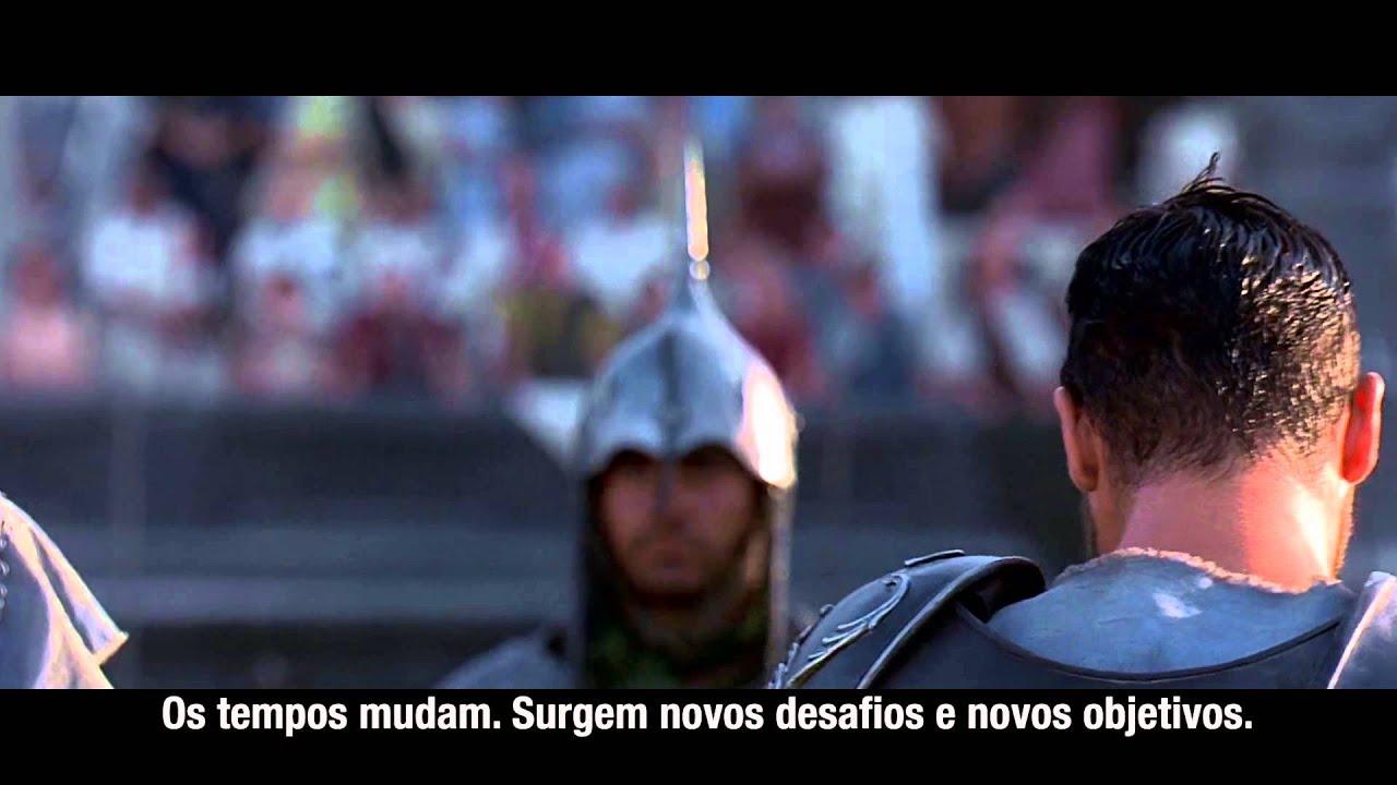 Motivacional Gladiador Inglês 2014 Fullhd