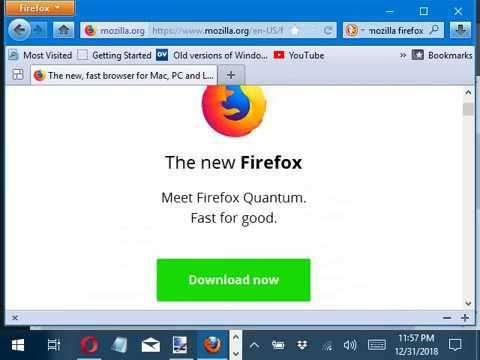 How To Download Older Versions Of Mozilla Firefox On Windows 10