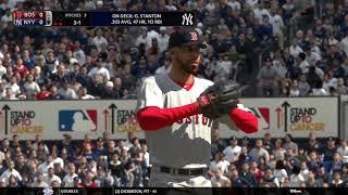 MLB The Show 18 (Boston Red Sox Season Mode) Game #151 - BOS @ NYY