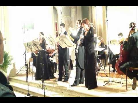W,A,Mozart: Sinfonia Concertante für Klarinett,Oboe,Horn,Fagott und Orchester K297/b