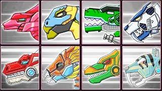 Dino Robot Corps + Robot Dinosaurs #2| Eftsei Gaming