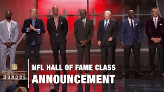 2017 Hall of Fame Class Announced | 2017 NFL Honors