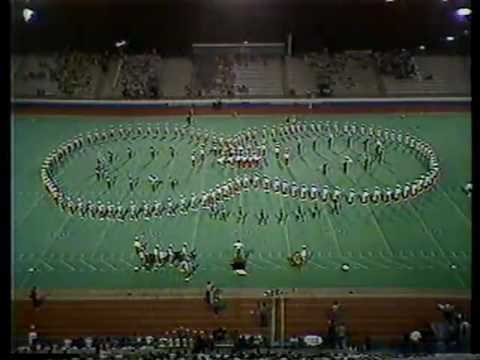 1984 Laurel County High School Marching Band at MTSU Contest of Champions