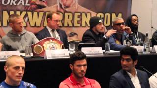 TERRY FLANAGAN v DIEGO MAGDELENO / LIAM SMITH v JOHN THOMPSON - FULL FINAL PRESS CONFERENCE / WW3