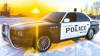ДРИФТ на ПОЛИЦЕЙСКОЙ BMW за 50 000р.