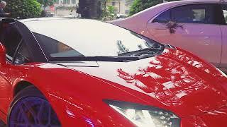 Tuấn Hưng lái siêu xe Lamborghini đi dự tiệc cưới em trai vợ