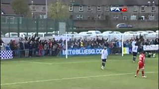 Guiseley 0-5 Crawley Town - The FA Cup 1st Round - 06/11/10