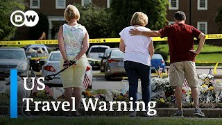 China issues travel warning for the US over mass shootings | D…