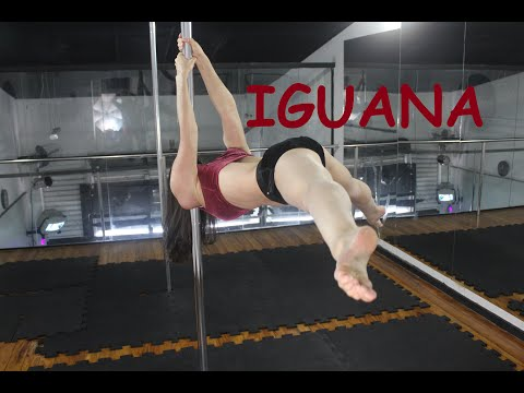Iguana em Split  - Tutorial de Pole Dance por Alessandra Rancan